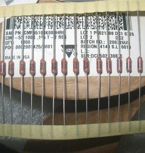 Image 2 - 30 قطعة/الوحدة ديل CMF55 جميع سلسلة 1R 10M 0.1% HIFI المقاومات عالية الدقة المعادن فيلم المقاوم شحن مجاني