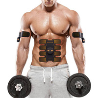 Electric Abdominal Muscle Trainer Press Stimulator Fitness Smart EMS Home Gym Exercise Machine Workout Body Slimming Equipment