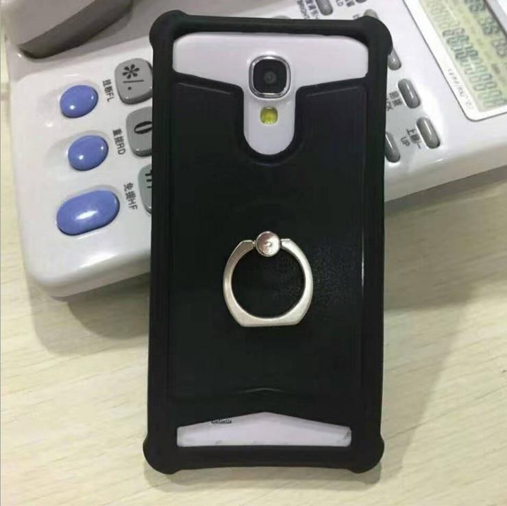 Yooyour Universal Leather Back Cover Soft Silicone Phone Case For OUKITEL K6000 Pro  U7 Plus U10 K6000 #1