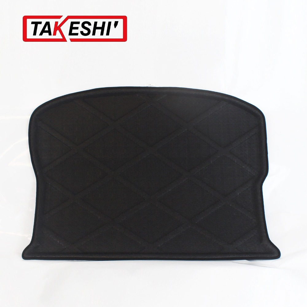 Rubber floor mats cheap - Rear Trunk Cargo Mat Boot Liner Suitable Rubber Floor Protector Trunk Tray Mat Anti Slip