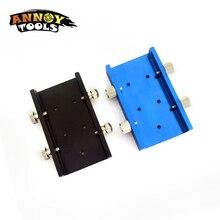 33mm 레이저 냉각 패드 열 레이저 모듈 홀더 방열판 미니 레이저 조각 기계 레이저 cnc 부품 + 4 개의 손 나사