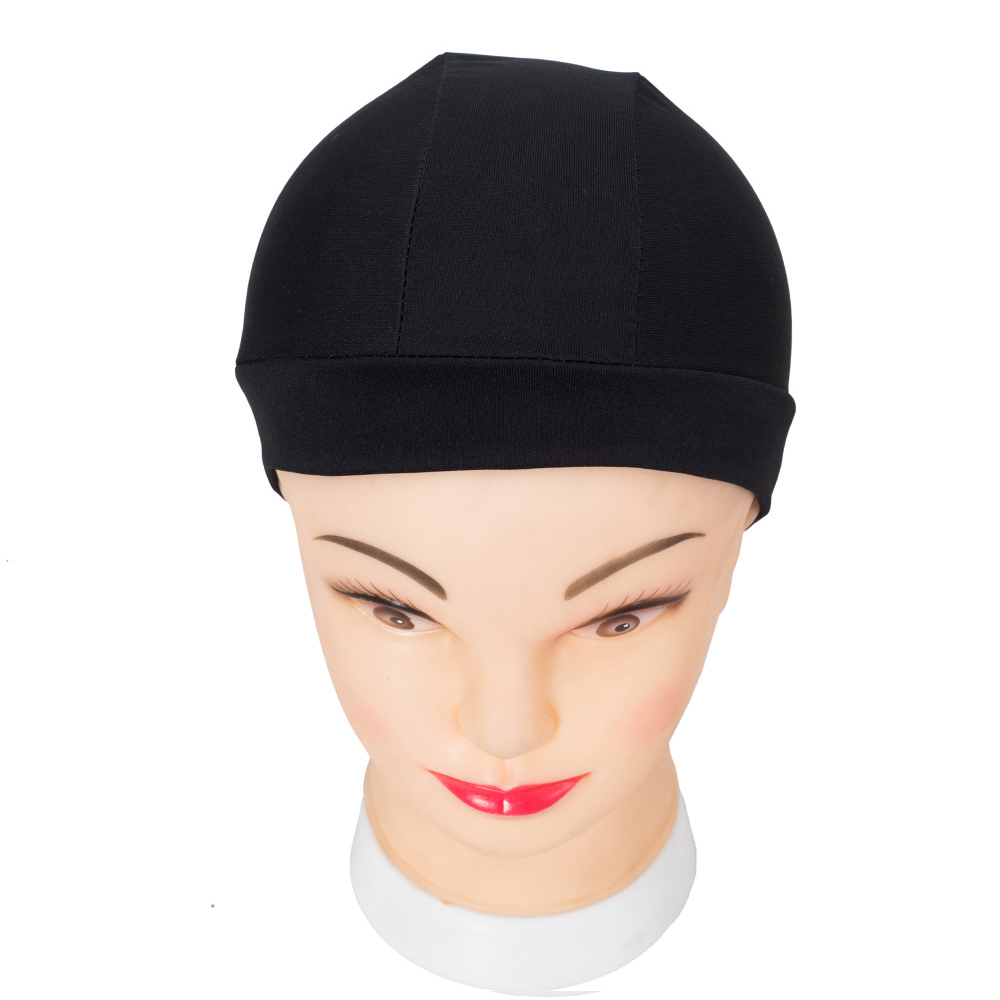 Buy Two Get One Free Spandex Dome Cap For Wig Making In Hairnets Elastic Cap Average Size Snood Nylon Strech Hairnets Hats ...