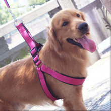 Nylon Dog Harnesses Comfortable Breathable Firm and Durable Pet with Traction Rope for Medium Big Supplies