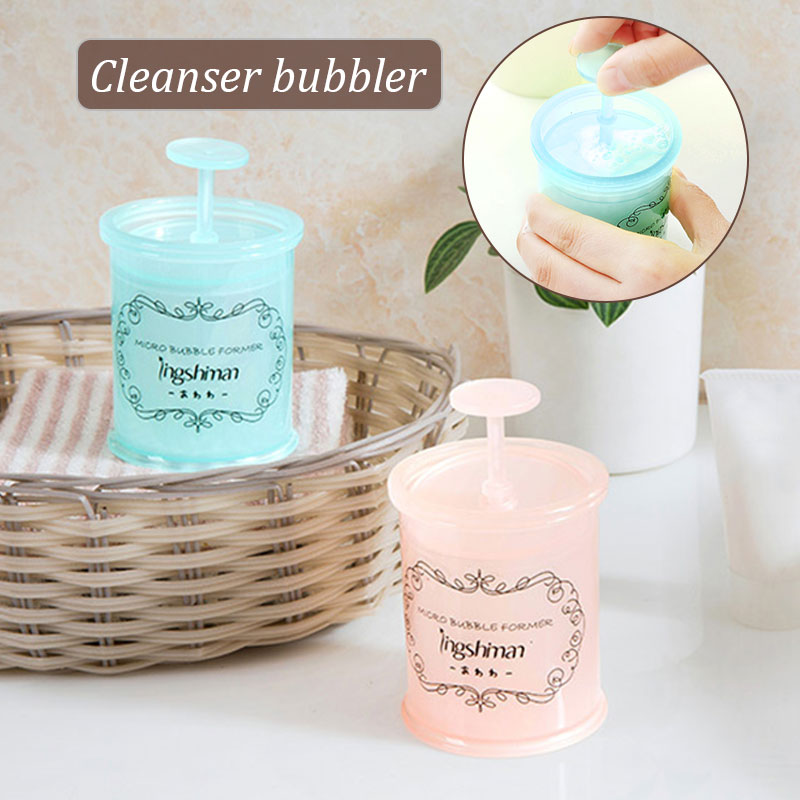 Пенообразователь моющее средство пенообразователь устройство для мыльных пузырей лицо ручной креативный 2 цвета практичный