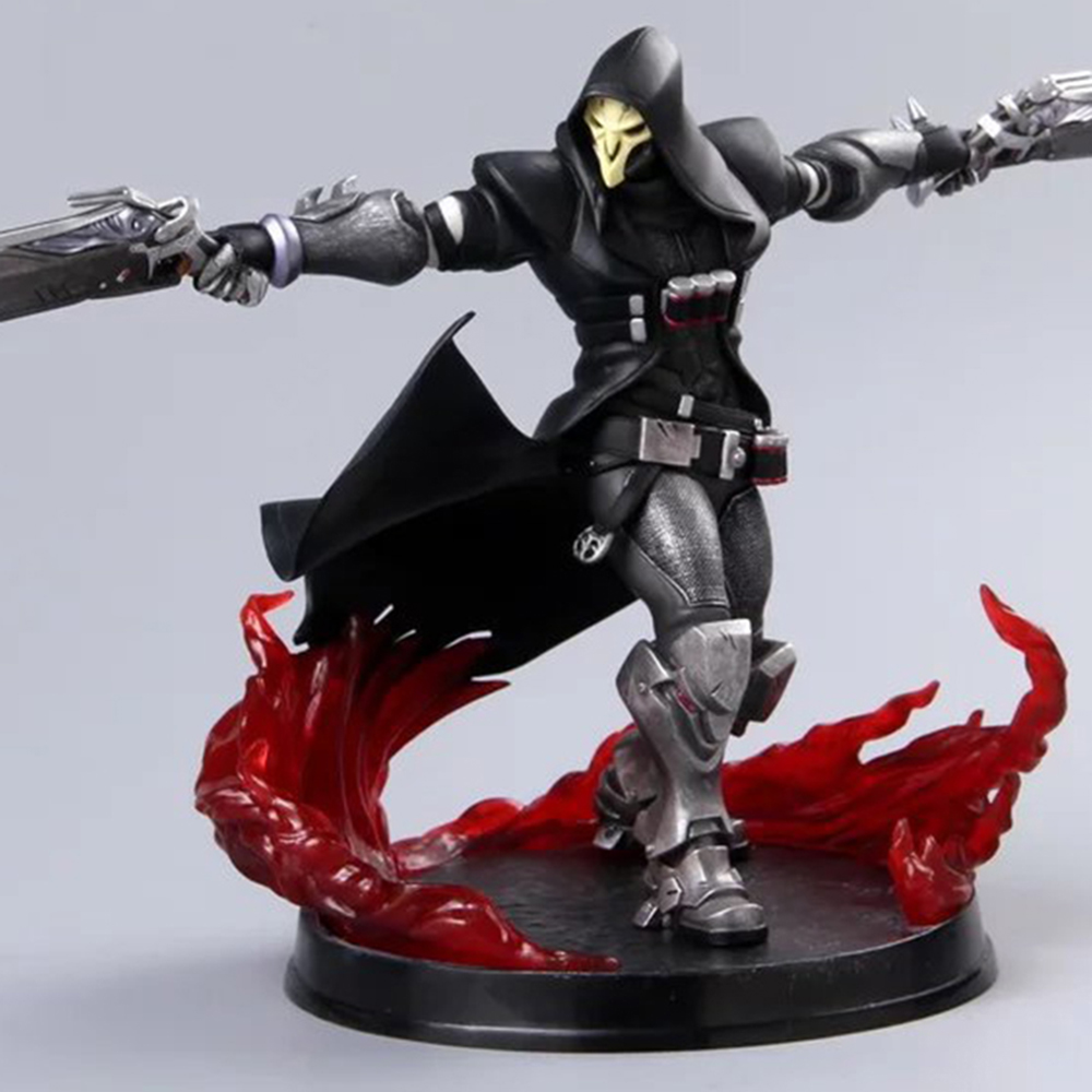 Love Thank You OW Over game watch  Reaper Gabriel Reyes B 28cm PVC Anime figure toy Model gift new twister family board game that ties you up in knots