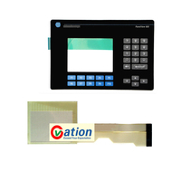 for 2711 B6C3 2711 B6C3L1 Touch Screen Glass +Membrane keypad keyboard