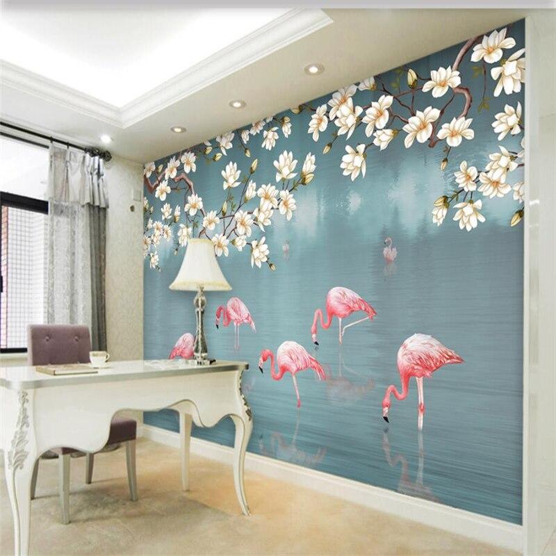 Beibehang Custom Wallpaper Home Decor Living Room Bedroom: Beibehang Wallpaper Mural Custom Living Room Bedroom Hand