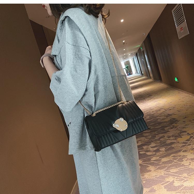 newest fashion bags bag women chain shoulder crossbody bag women's handbags (16)