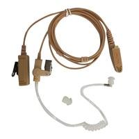 2 Pin Mic PTT For Portable Radio Walkie Talkie Baofeng UV 5R UV B5 GT 3TP