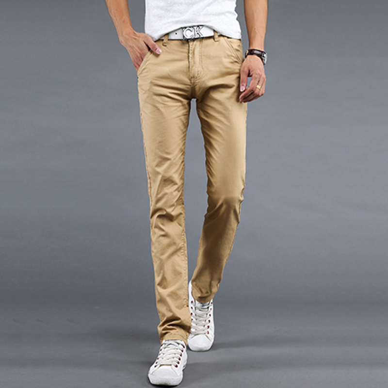 lightweight khaki pants men - Pi Pants