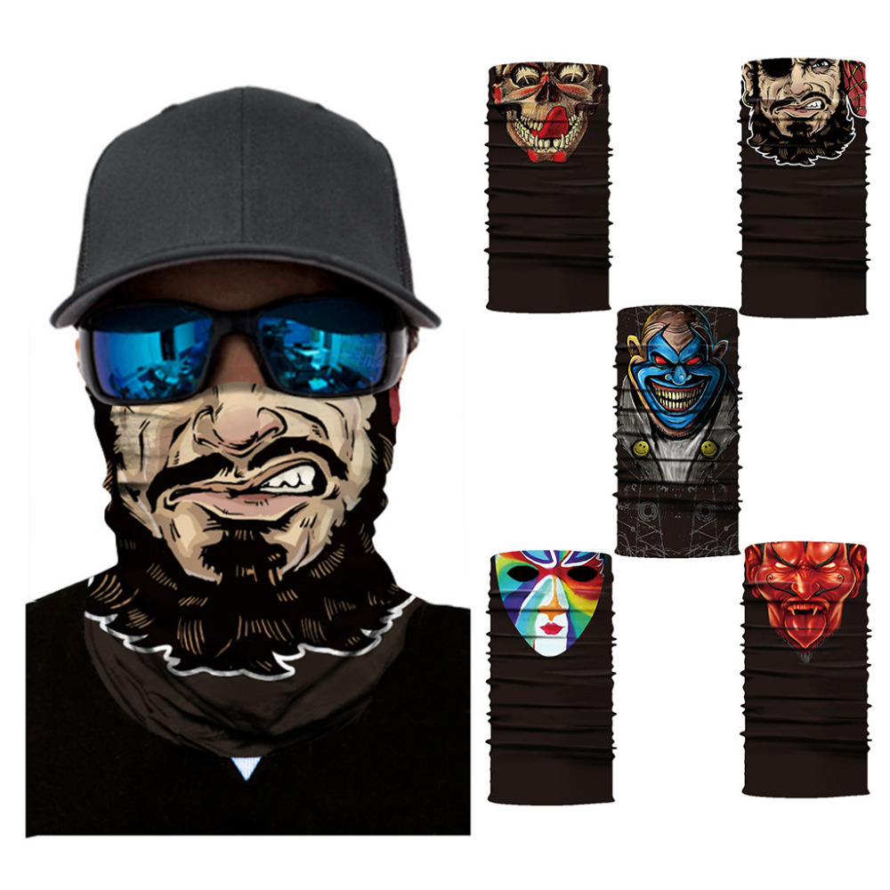 Magic Headwear Vivid Reflections Outdoor Scarf Headbands Bandana Mask Neck Gaiter Head Wrap Mask Sweatband