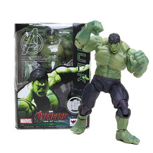 Vingadores Hulk 3 Estatueta PVC Action Figure Superhero Esquadrão Suicida O Coringa Figura Collectible Toy Modelo Final de Jogo Brinquedos(China)