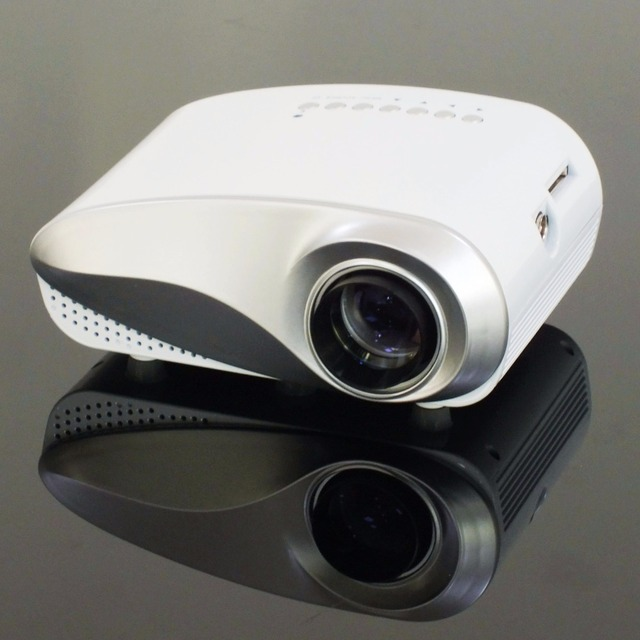 Hot selling MINI Home Cinema LED Theater LCD Projector PC Laptop ...