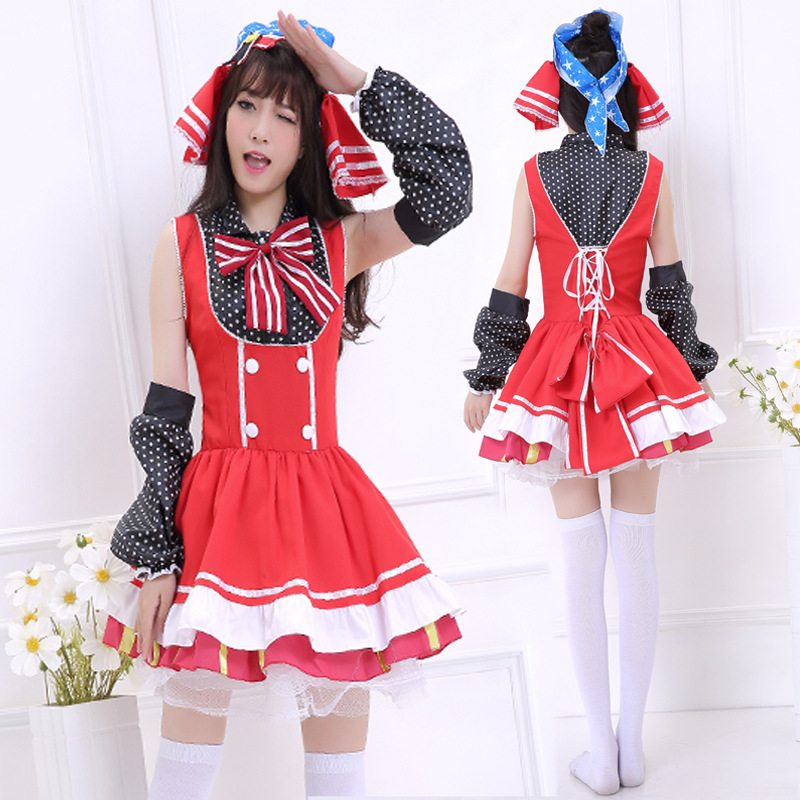 ᗐEnvío libre amor en vivo Maki nishikino maidservant cosplay de ...