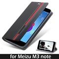 Meizu m3 note caso tampa do suporte da aleta de couro de luxo para meizu m3 note case capa carteira de couro do telefone sacos