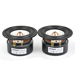 Image 3 - AIYIMA 2Pcs 3Inch Mini Audio Portable Speakers 4Ohm 8Ohm 15W Full Range Hifi Bass Speaker Altavoz Portatil Speaker DIY