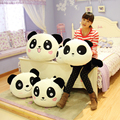 Holiday sale 55cm super cute funny large lying sweet panda cloth doll hold pillow plush stuffed toy creative birthday gift 1 pc
