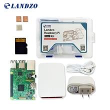 Малина Pi комплект-Raspberry Pi 3 доска + 5 В 2.5A AU Питание + чехол + теплоотвод для Малина PI 3 Модель b Wi-Fi и Bluetooth
