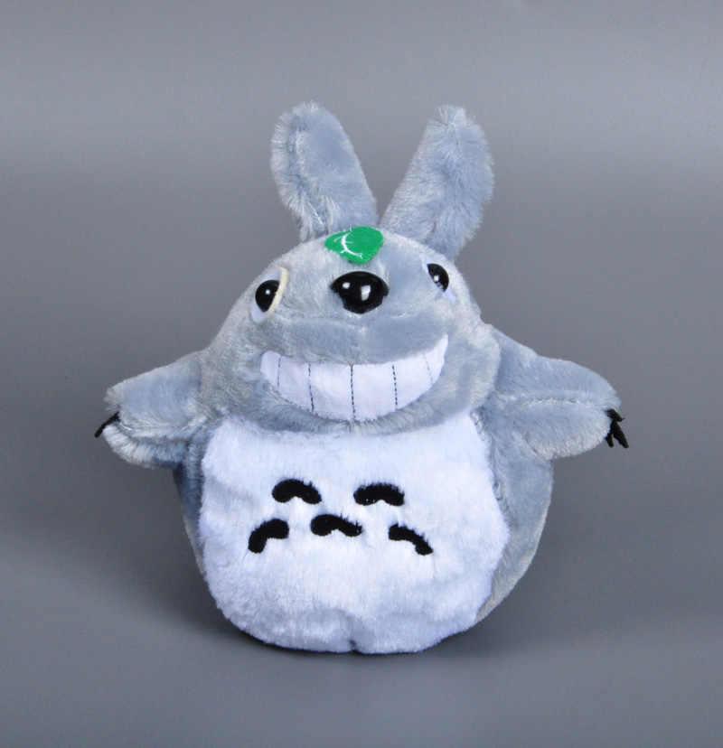 20 cm Anime meu vizinho totoro plush toy Japão Miyazaki gato de pelúcia boneca Doce sorriso Bonito Ônibus totoro boneca de brinquedo de pelúcia para as crianças