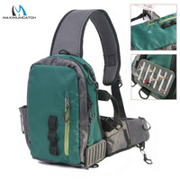 Maximumcatch Splash Waterproof Fly Fishing Sling Bag Multi Purpose Shoulder Fishing Pack Outdoor Backpack