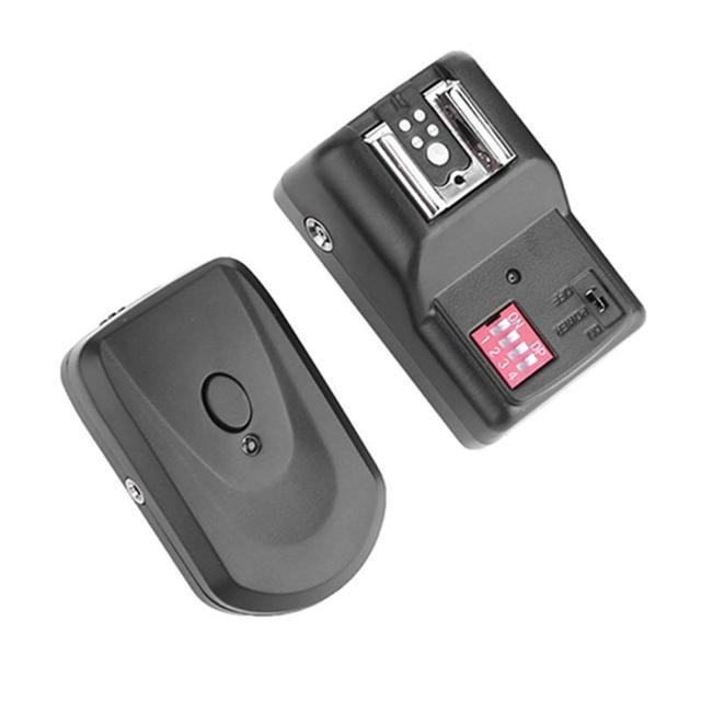 캐논 니콘 소니 Pentax DSLR 카메라에 대한 16 채널 무선 원격 스피드 라이트 플래시 트리거 성 노출증 동기화 수신기
