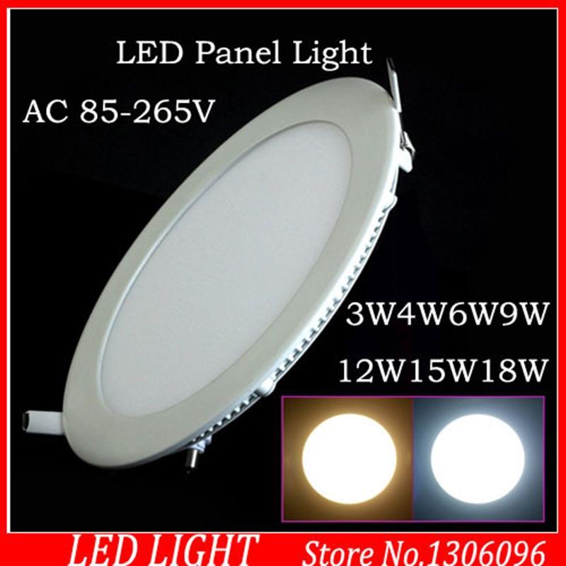 25 Watt ümmargune LED lakke valgust süvistatavad köök Vannituba - LED Valgustid