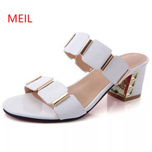 New 2018 Summer Shoes Women High Heel Sandals Rome Style Fashion Women's Sandals Ladies Brand Shoes Thick Heel Ladies Shoes egonery summer 2018 new fashion ladies sandals heel height 6 5 cm genuine leather mixed colors concise casual high heel shoes