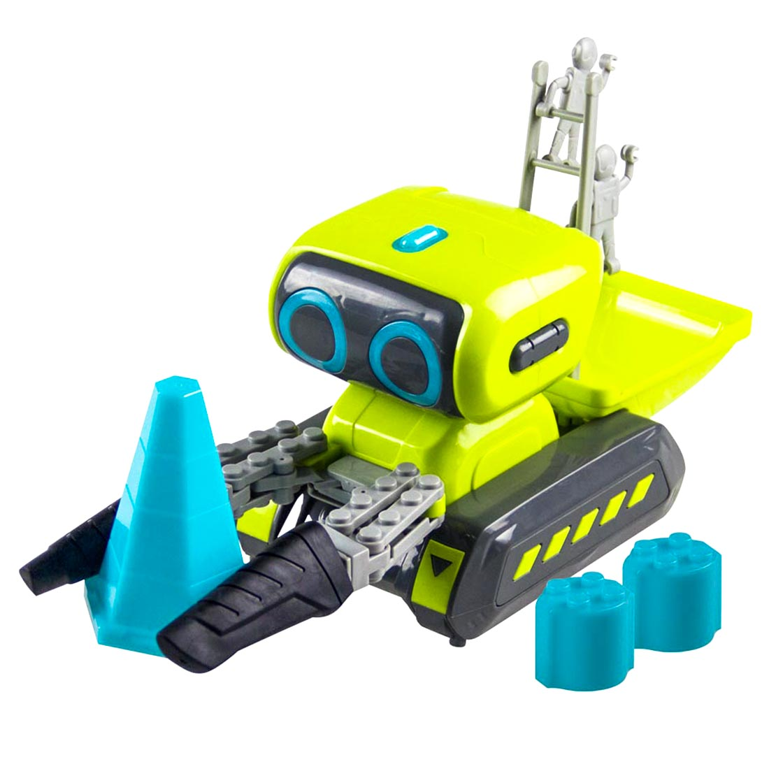 2019 New Smart Programming RC Robot Engineering Forklift RC Indoor Toy With Light And Music For Children