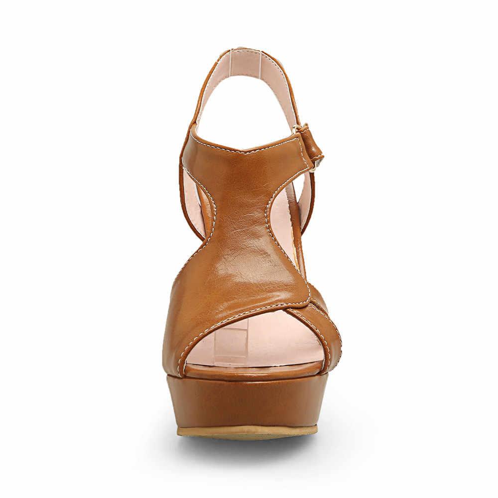 ASUMER schwarz rosa weiß peep toe schnalle mode sommer damen schuhe super hohe prom schuhe plattform frauen high heels sandalen