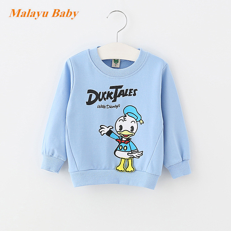 Malayu-Baby-2017-Autumn-Infant-Cotton-Cartoon-Sweater-Baby-Boy-Girl-Donald-Duck-Mimi-Print-Long-Sleeve-Fashion-0-2-years-baby-2