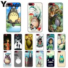 Yinuoda Cartoon Hayao Miyazaki Spirited away Totoro Phone Case Cover for iPhone 8 7 6 6S Plus 5 5S SE XR X XS MAX Coque Shell(China)