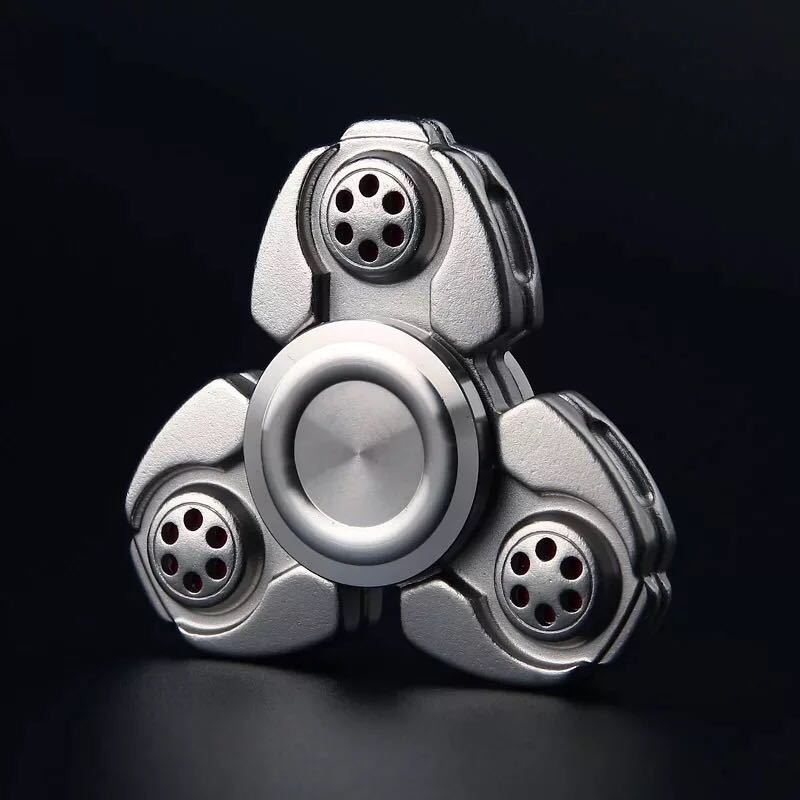 Ceramic Tri-Spinner Fidget Toy EDC Hand Spinner for Autism and ADHD Stress Relieve Toy Rotation Time Long Finger Spinner creative ceramic tri spinner fidget toy edc hand spinner for autism and adhd stress relieve toy rotation time beyond 6 minutes