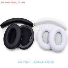 Coussinets d'oreille et bandeaux de remplacement pour Beat By Dr Dre Studio 1.0, 1 ensemble