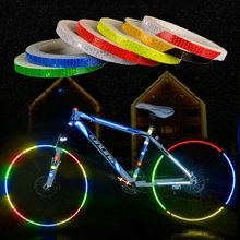 Bicycle Safety Reflective Stickers Motorcycle Car Fluorescen