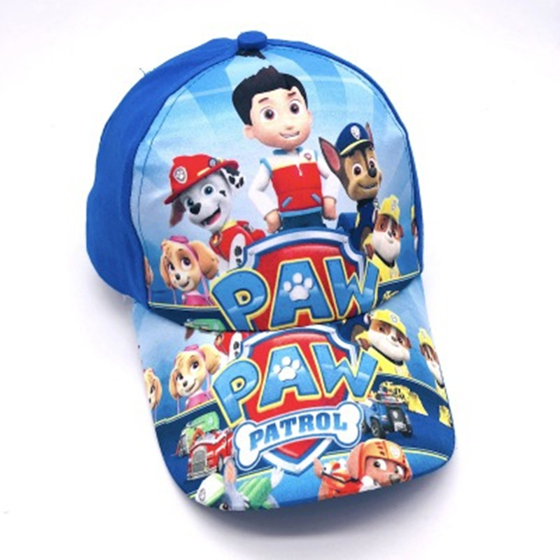 Paw Patrol dog Hat Headdress sunhat Breathable Summer Baseball cap Lovely Handsome Patrulla Canina Action Figures Gift in Action Toy Figures from Toys Hobbies