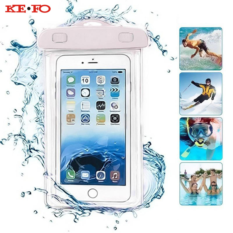 cheaper c7fe6 10bbc KEFO Waterproof Phone Pouch Bag Underwater Dry Case For Google Nexus 5X 6P  Pixel XL Pixel 2 XL Swimming Outdoor Universal Cover