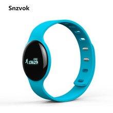 Snzvok Новый H8 Умный Браслет Bluetooth 4.0 Обнаружения Монитор Сердечного ритма Спорт Фитнес Браслет Для IOS Андроид Смарт-Часы