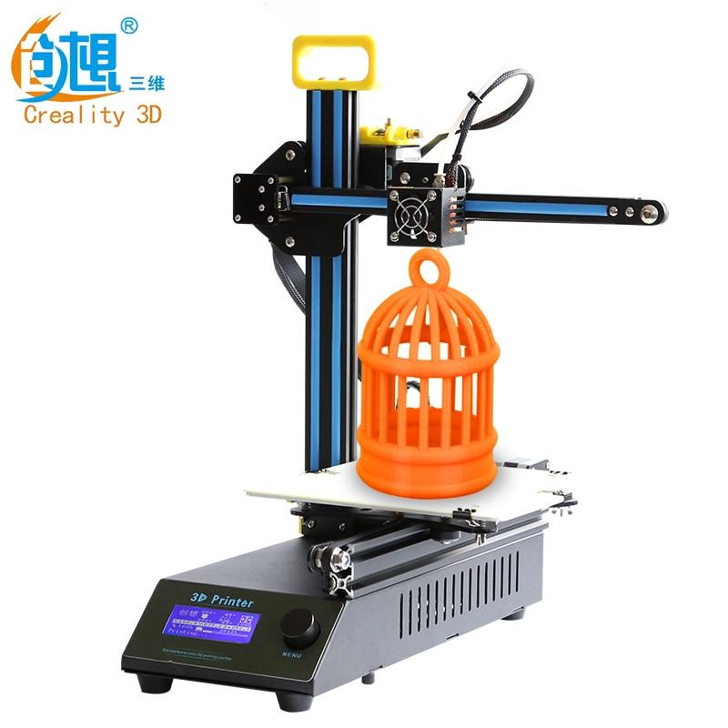 Creality CR-8 металлический Рамки 3D-принтеры комплект для печати Размеры 210*210*210 мм с лазерной гравировкой принтер 3D нити Бесплатная доставка