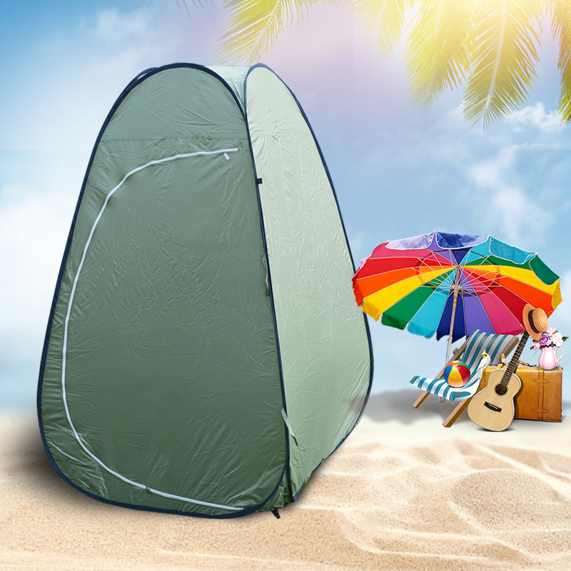1 Person Portable Outdoor Pop Up Changing Tent 110*110*190cm ...