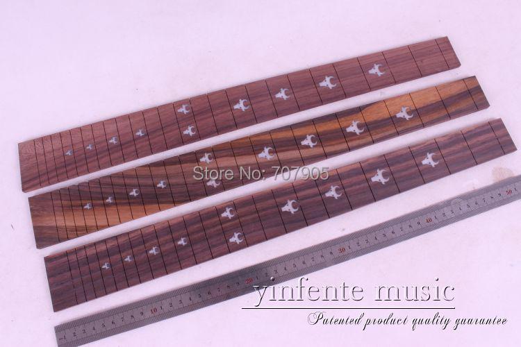 New 2 pcs   Guitar Fretboard electric guitar rosewood  Fretboard Parts High quality 16 # acoustic guitar neck fingerboard fretboard for guitar parts replacement rosewood zebrawood veneer
