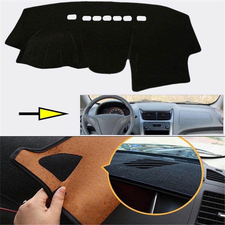 Tout nouveau tapis de protection pour tableau de bord intérieur tapis de protection photophobisme pour Chevrolet Sail 2010-2012