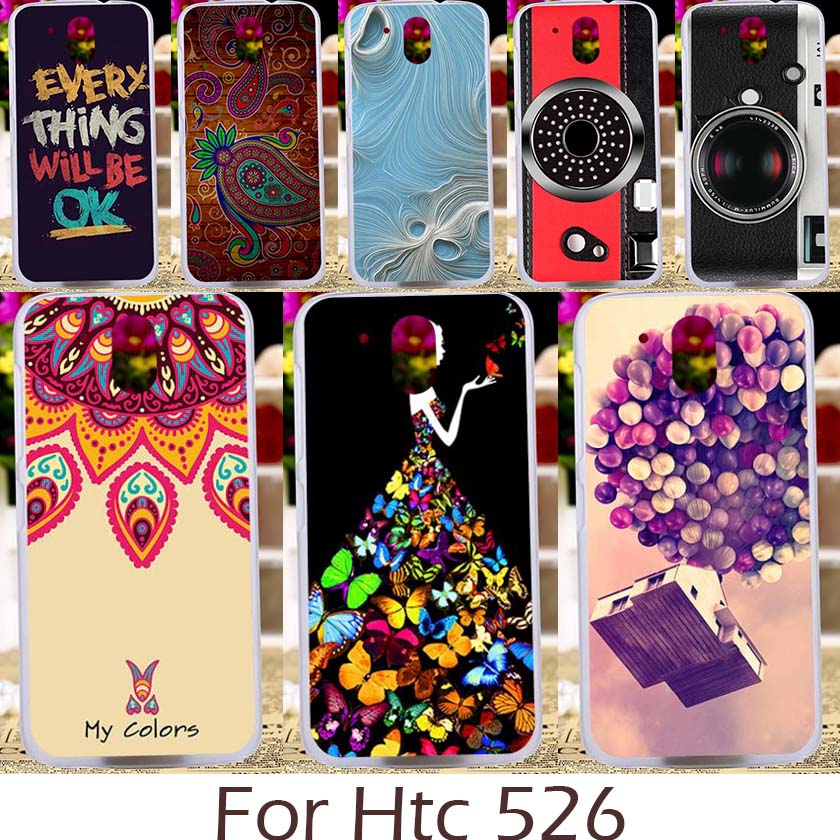 Akabeila Cartoon Game Pattern Case For HTC HTC Desire 526 526G+ 526G 326 326G Phone Bag Cover Silicon Soft TPU