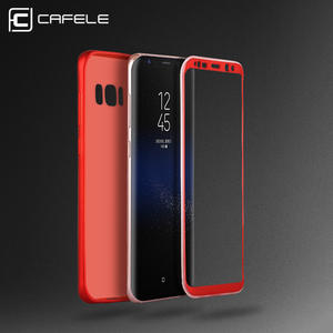 CAFELE Full Coverage Case for Samsung Galaxy S8 TPU+PC Silky touch feel Back Cover Ultra thin Case for Samsung Galaxy S8 Plus