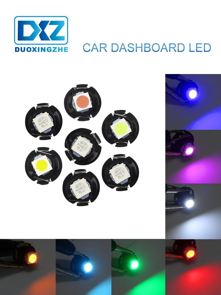300Pcs White T5 F10 COB 1W LED Instrument Dashbord LED Bulbs Light 37 73 74