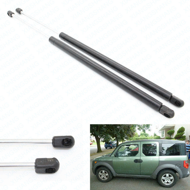 (2) auto puerta trasera hatch boot struts gas cargado lift soporte para 2003-2005 2006 2007 2008 2009 2010 2011 honda element