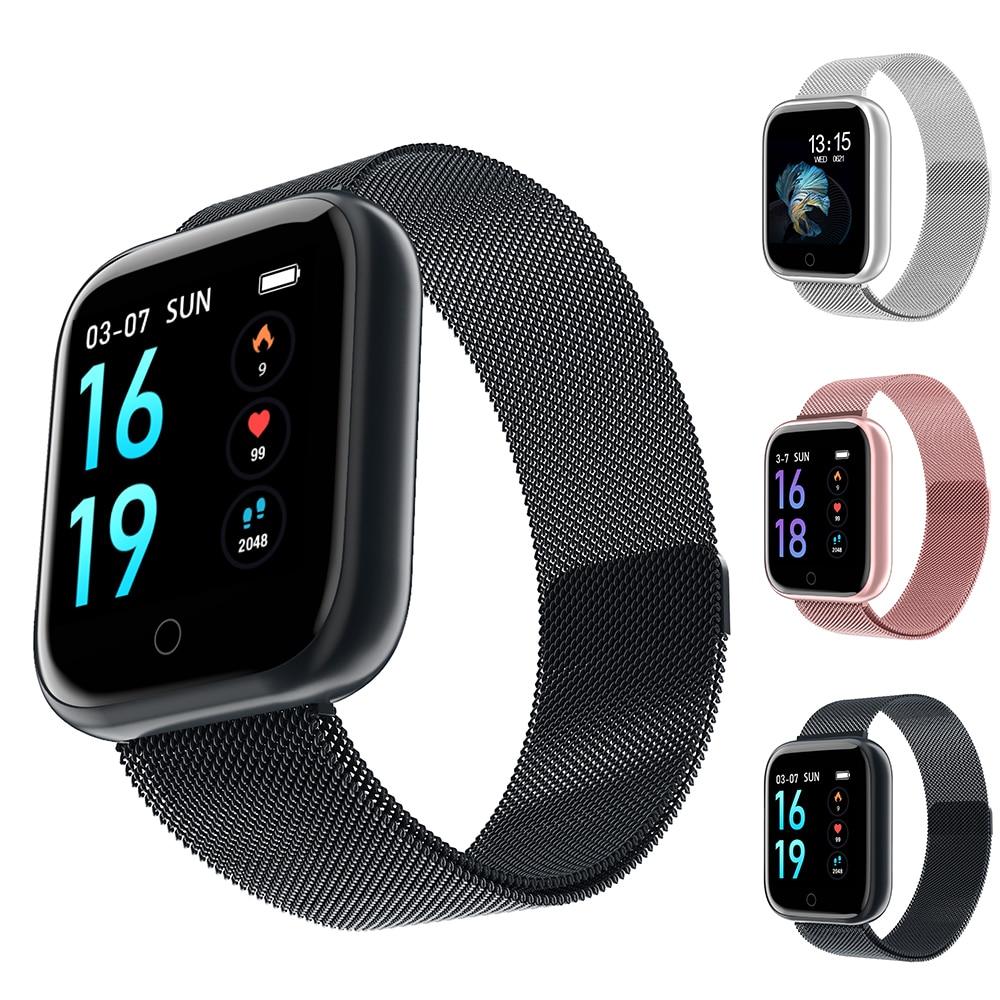 T80 relógio inteligente à prova dwaterproof água vs q9 p68 p70 pulseira relógio atividade rastreador de fitness monitor de freqüência cardíaca borda das mulheres dos homens smartwatch
