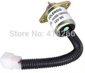 Shutdown solenoid valve 1503ES-12A5UC5S, SA-4569-T FOR shutdown switch 12V free shipping 3924450 2001es 12 fuel shutdown solenoid valve for cummins hitachi