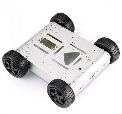 4WD aluminum alloy off-road mobile robot platform can carry Arduino raspberry st