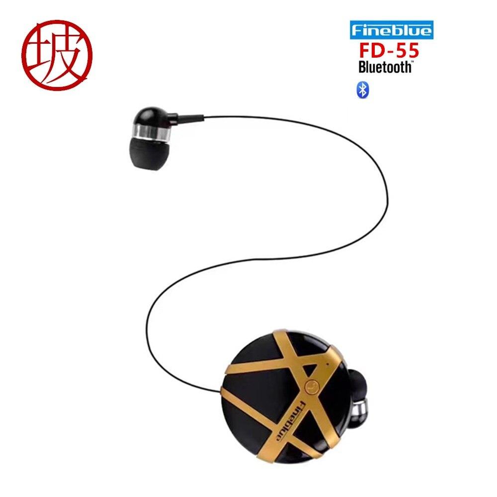 Aliexpress.com : Buy Fineblue FD 55 Wireless Bluetooth Headset Calls Remind Vibration Wear