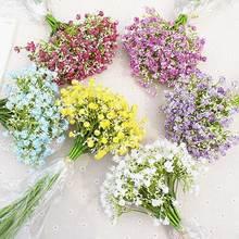 30cm Artificial Silk Flower Wedding Gypsophila Bouquet Bridesmaids Flowers Restaurant Office Decor Garden Photo Prop